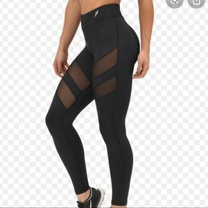 Do You Even black mesh leggings